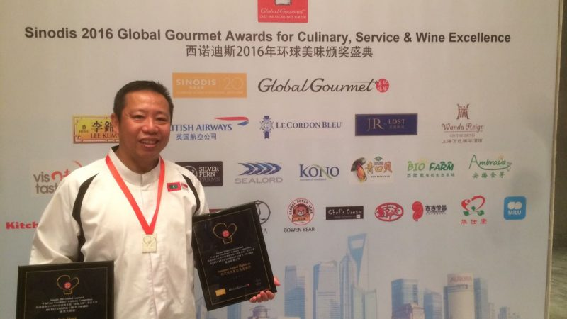 Summer Island Maldives' Chef Jack Receives Top 50 Global Outstanding Chef Award