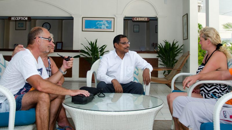 Adduan Returns To His Roots to Run Equator Village Resort